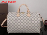 Louis Vuitton New Speedy Bandouliere 35 Damier Azur Canvas Replica