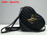 Louis Vuitton New Wave Heart Bag in Black Quilted Calf Leather M52796 Replica
