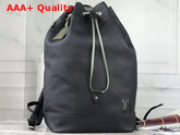 Louis Vuitton Noe Backpack in Black Taurillon Leather M55171 Replica