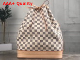 Louis Vuitton Noe Bucket Bag Damier Azur Canvas N42222 Replica