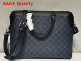 Louis Vuitton Oliver Briefcase Damier Cobalt Coated Canvas N51199 Replica