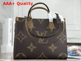 Louis Vuitton Onthego MM Monogram and Monogram Reverse Coated Canvas M45039 Replica