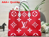 Louis Vuitton Onthego Rouge M44569 Replica M44569