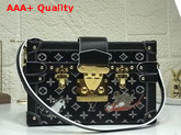 Louis Vuitton Petite Malle Black and White Transformed Monogram Canvas M44437 Replica