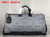 Louis Vuitton Reversible Keepall Bandouliere 50 Rainbow and Grey Black M44939 Replica