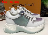 Louis Vuitton Run Away Pulse Sneaker Mix Material with White Calf Leather Replica