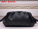 Louis Vuitton Scala Mini Pouch Black Mahina Perforated Calf Leather M80093 Replica