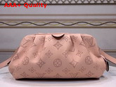 Louis Vuitton Scala Mini Pouch Magnolia Pink Mahina Perforated Calf Leather M80092 Replica