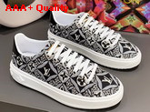 Louis Vuitton Since 1854 Time Out Sneaker in Black 1A8O09 Replica