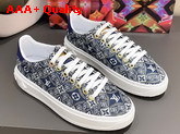 Louis Vuitton Since 1854 Time Out Sneaker in Blue 1A8O09 Replica