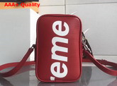 Louis Vuitton Small Supreme Messenger Red Epi Leather Replica