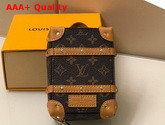 Louis Vuitton Soft Trunk Backpack Bag Charm and Key Holder in Monogram Canvas and Calf Leather M69483 Replica