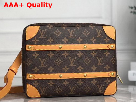 Louis Vuitton Soft Trunk Messenger PM Monogram Canvas M68494 Replica
