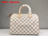 Louis Vuitton Speedy 25 Damier Azur N41371 Replica