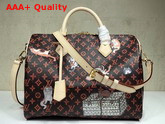 Louis Vuitton Speedy 30 Bandouliere Brown and Orange Transformed Monogram Canvas M44401 Replica