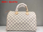 Louis Vuitton Speedy 30 Damier Azur N41370 Replica