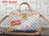 Louis Vuitton Speedy Bandouliere 30 Damier Azur Canvas N41063 Replica