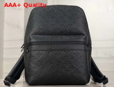 Louis Vuitton Sprinter Backpack in Black Monogram Shadow Cowhide Leather and Matte Black Hardware M44727 Replica