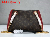 Louis Vuitton Surene BB Monogram Canvas with Cherry Grained Calf Leather M43776 Replica