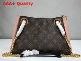 Louis Vuitton Surene BB Monogram Canvas with Rose Poudre Grained Calf Leather M43777 Replica