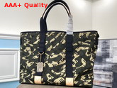 Louis Vuitton Treillis Tote Green Monogramouflage Canvas M95783 Replica