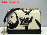 Louis Vuitton Tribal Print Twist MM Bag M53232 Replica