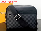 Louis Vuitton Trocadero Messenger NM PM Damier Graphite Coated Canvas N40087 Replica