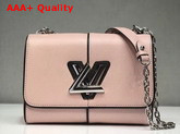 Louis Vuitton Twist MM Pink Patchwork Epi Leather Replica