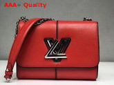 Louis Vuitton Twist MM Red Patchwork Epi Leather Replica