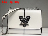 Louis Vuitton Twist MM White Patchwork Epi Leather Replica