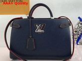 Louis Vuitton Twist Tote Epi Indigo M54980 Replica
