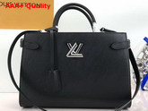 Louis Vuitton Twist Tote Epi Noir M54810 Replica