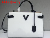 Louis Vuitton Twist Tote in White Epi Leather Replica