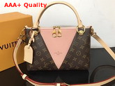Louis Vuitton V Tote BB Monogram Rose Poudre Pink M43967 Replica