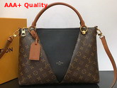 Louis Vuitton V Tote MM Monogram Black M43948 Replica