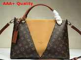 Louis Vuitton V Tote MM Monogram Safran M43951 Replica