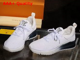 Louis Vuitton VNR Sneaker White Knit and Tape 1A3UIV Replica