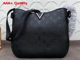 Louis Vuitton Very Hobo Black Replica