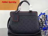 Louis Vuitton Vosges MM Monogram Empreinte Marine Rouge M43738 Replica