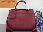 Louis Vuitton Vosges MM Monogram Empreinte Raisin M43249 Replica