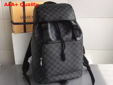 Louis Vuitton Zack Backpack Damier Graphite Canvas N40005 Replica
