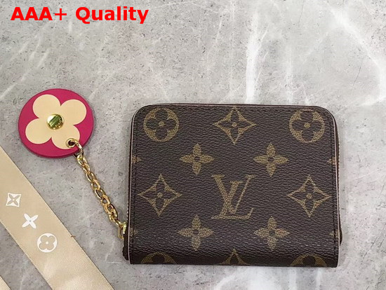 Louis Vuitton Zippy Coin Purse Part of The Houses Blooming Flowers Theme M68312 Replica