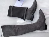 Stuart Weitzman Lowland Boot Slate Suede For Sale